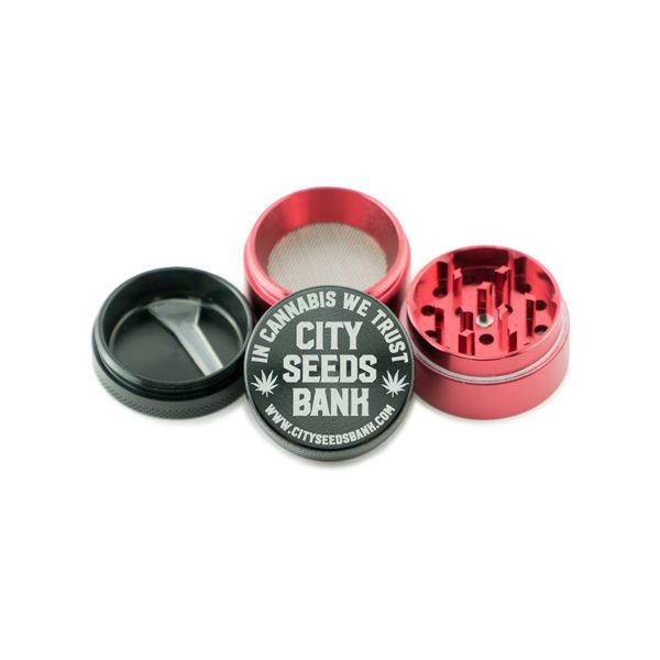 CSB Four Tier Red-Black Grinder