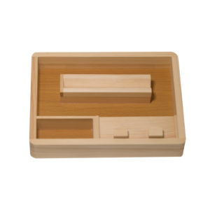 CSB Wooden Rolling Tray S