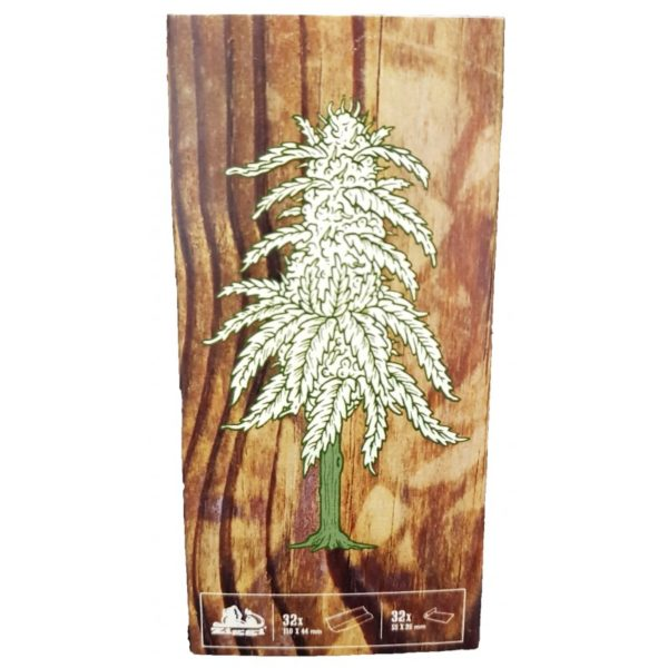Rolling Papers - Ultra Thin - Wood print